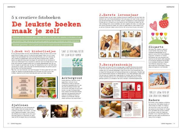 Fotoboek creatief
