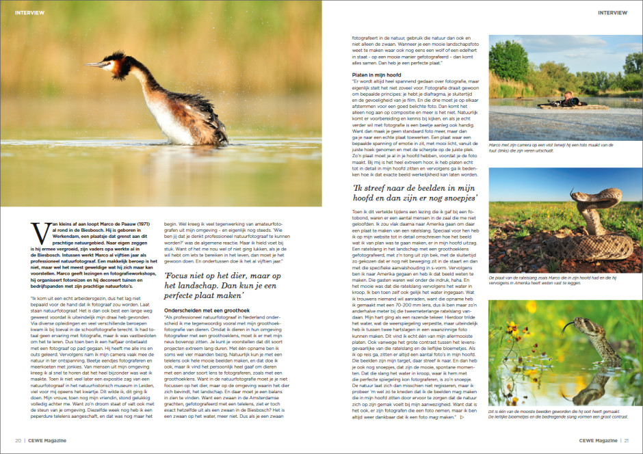 Interview natuurfotogfrafie