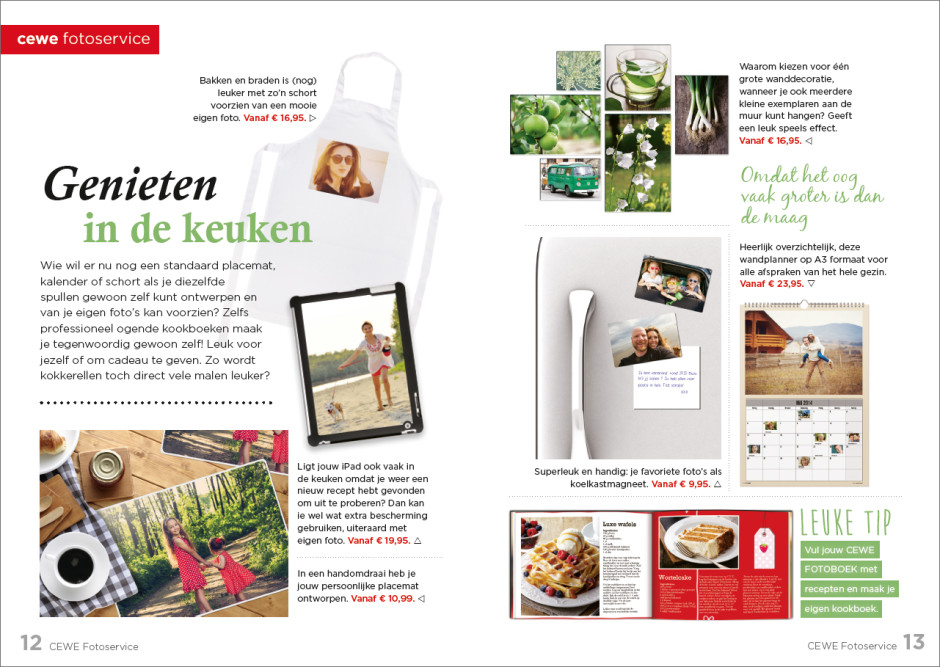 Productmagazine Keuken
